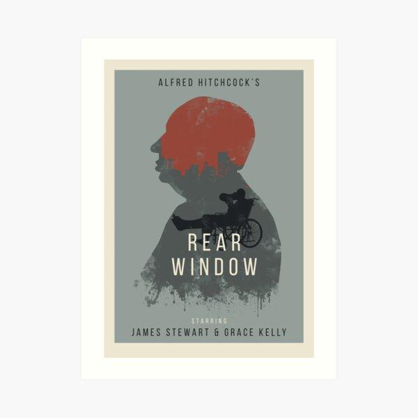 Alfred Hitchcock Rear Window Art Print