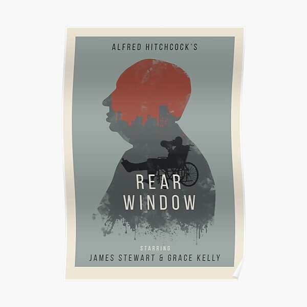Alfred Hitchcock Rear Window Poster