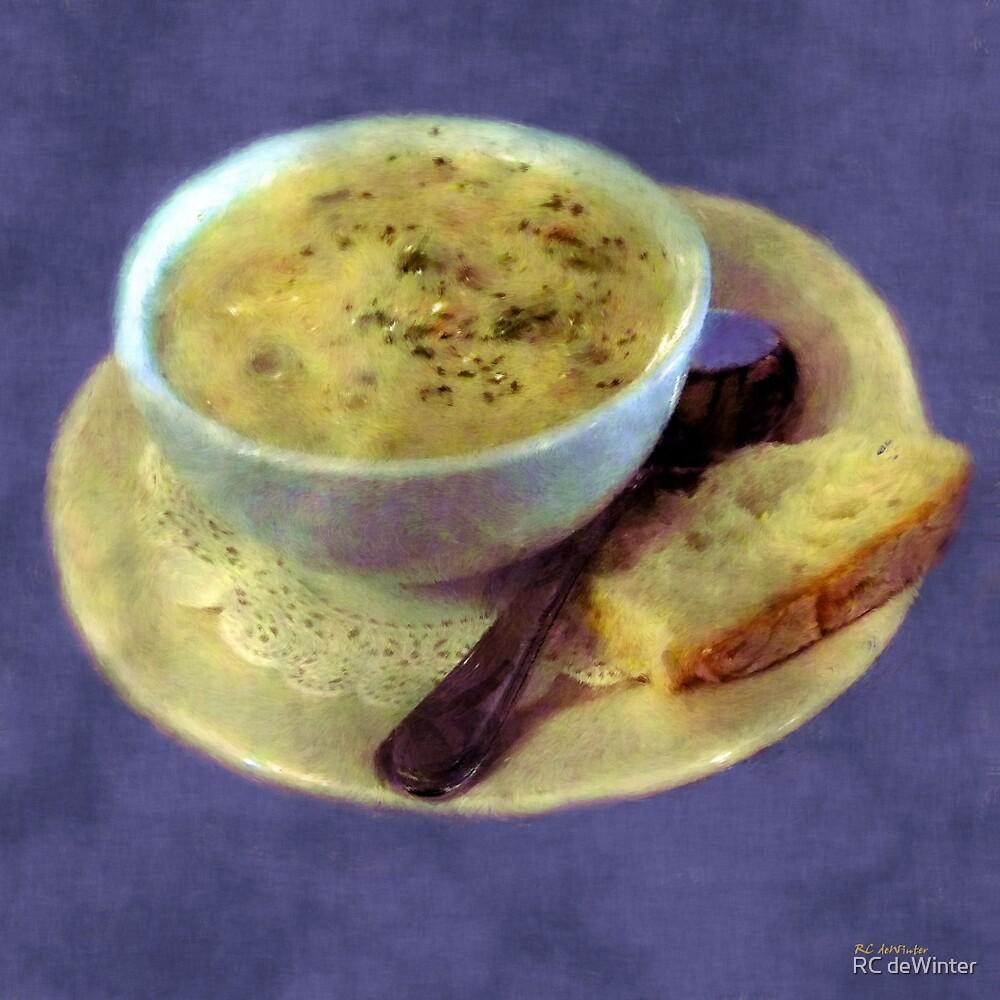 A Cup of Chowder, A Crust of Bread by RC deWinter