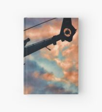 Helicopter  Hardcover Journal