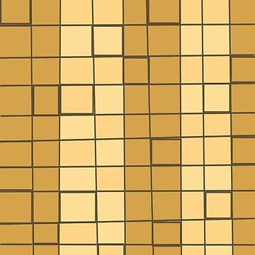 Golden Squares by facingthewindow