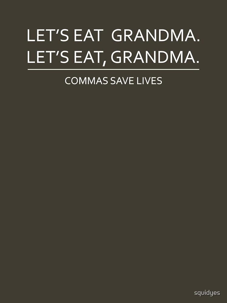 TShirtGifter presents: Commas save lives | Unisex T-Shirt