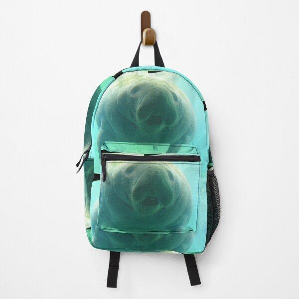 Friendly manatee Backpack