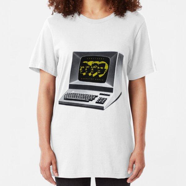 Kraftwerk Computer World  Slim Fit T-Shirt