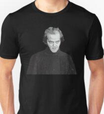 Jack Nicholson (Jack Torrance) The Shining poster T-Shirt
