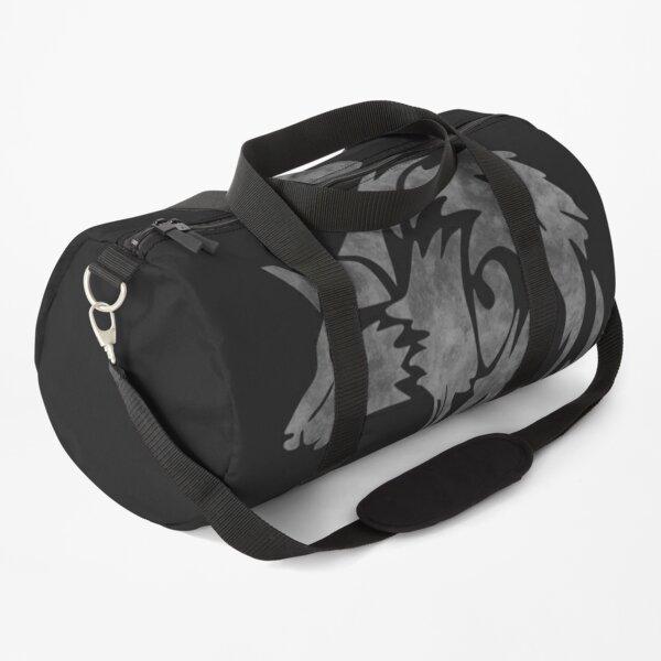 Tribal wolf Duffle Bag