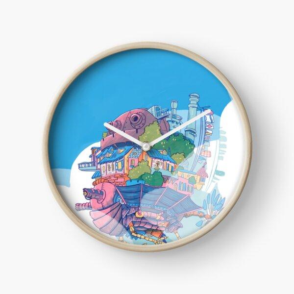 Flying Castle Clock