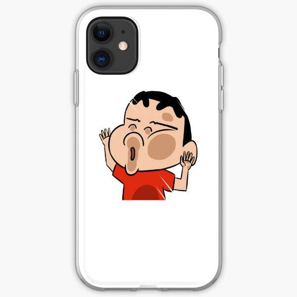 Shinchan's way of Window Shopping:) iPhone Soft Case