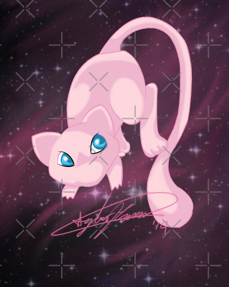 #151 Mew by ajemerson21