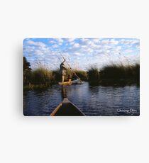 Okavango Delta Canvas Print