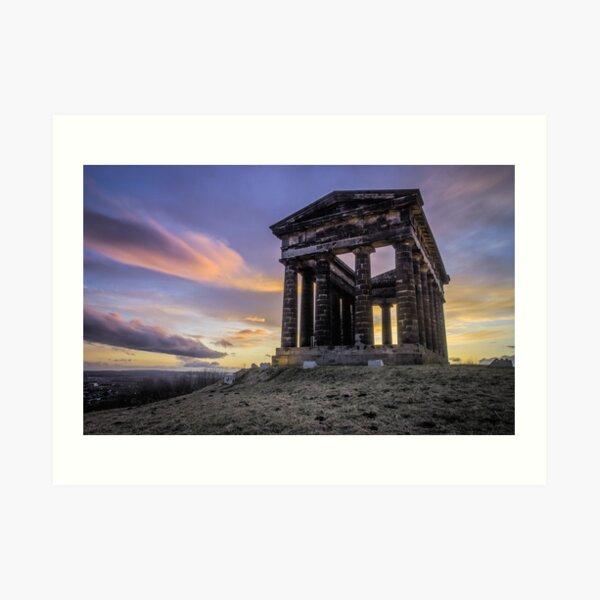 Penshaw Monument Sunset 2 Art Print