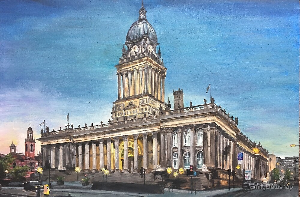Leeds Town Hall at Twilight by EmilyDewsnap