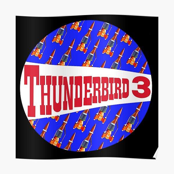 Thunderbird 3 Thunderbirds TV Original Series Alan Tracy Poster