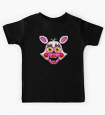 Adventure Funtime Mangle - FNAF World - Pixel Art Kids Tee
