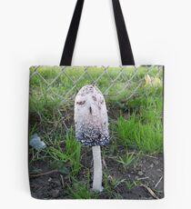 Tall Mushroom Tote Bag