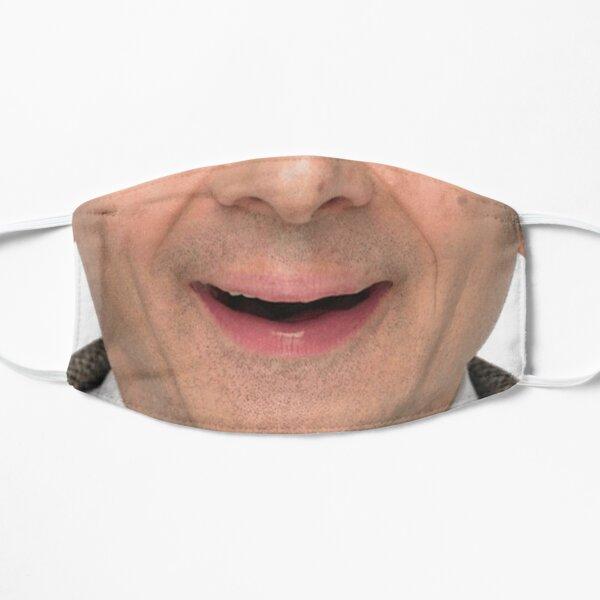 Mr. Bean Face Mask Flat Mask