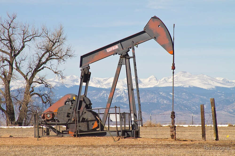 Colorado Front Range Oil Well Pump by Bo Insogna