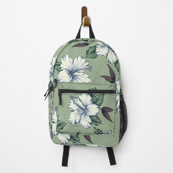 Singing Blue Hibiscus Backpack