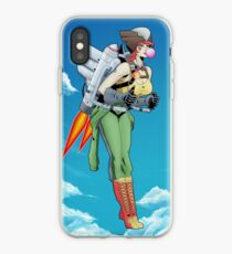 Bombshell Hawkgirl iPhone Case