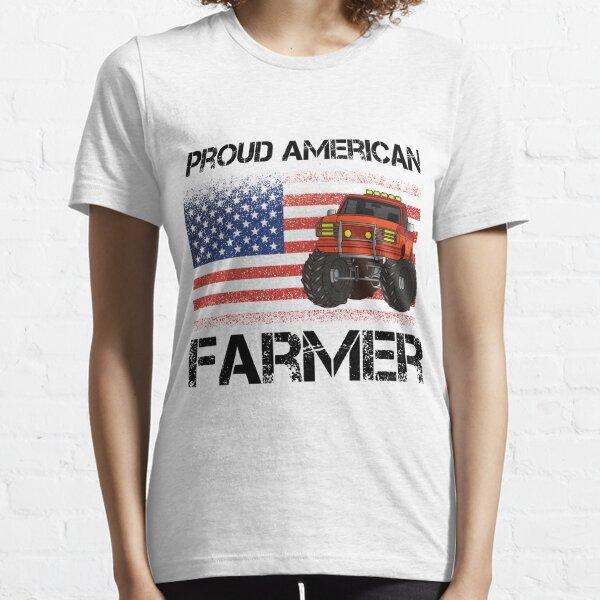 proud american farmer Essential T-Shirt