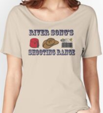 Dr. Who River Song's shooting range Women's Relaxed Fit T-Shirt