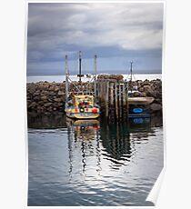 Port Stanley Trawler Poster