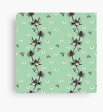 Sea Holly -  Sea Foam Canvas Print