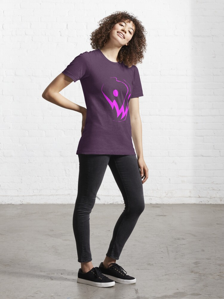 Alternate view of Grin: Pink Essential T-Shirt