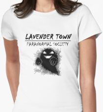 Lavender Town Paranormal Women's Fitted T-Shirt
