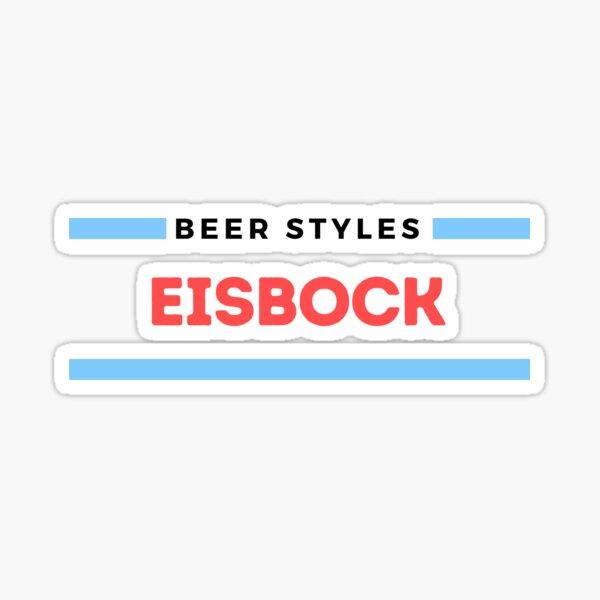 Beer Styles – Eisbock Sticker