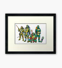 Teenage Mutant Ninja Turtles Framed Print