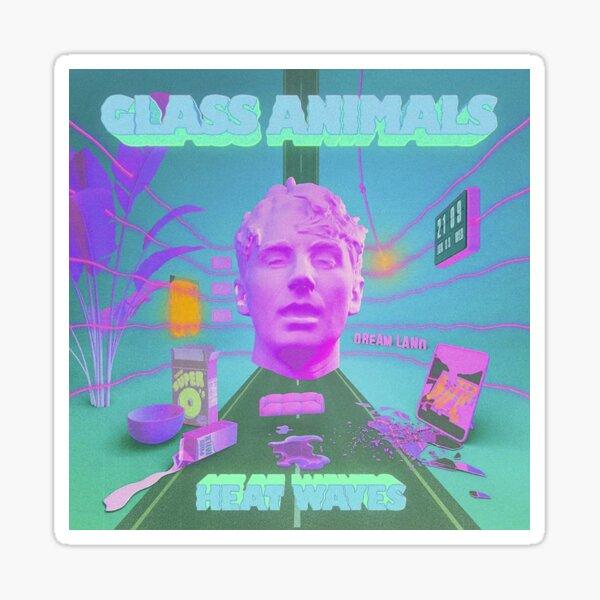 Glass Animals - Heat Waves Sticker