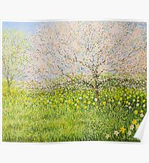 Springtime impression Poster