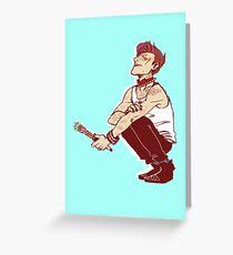 Punk Eleven Greeting Card