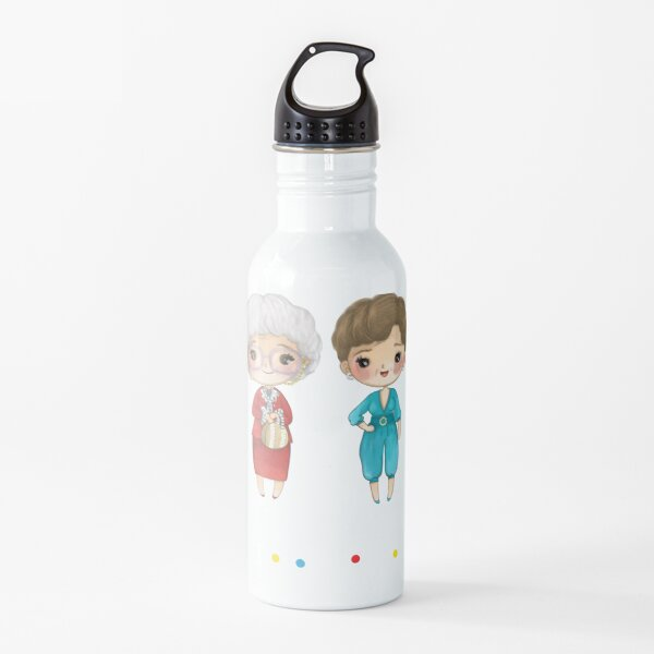 thanks you for being a friend-golden girls Water Bottle