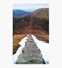 Mourne Wall Photographic Print