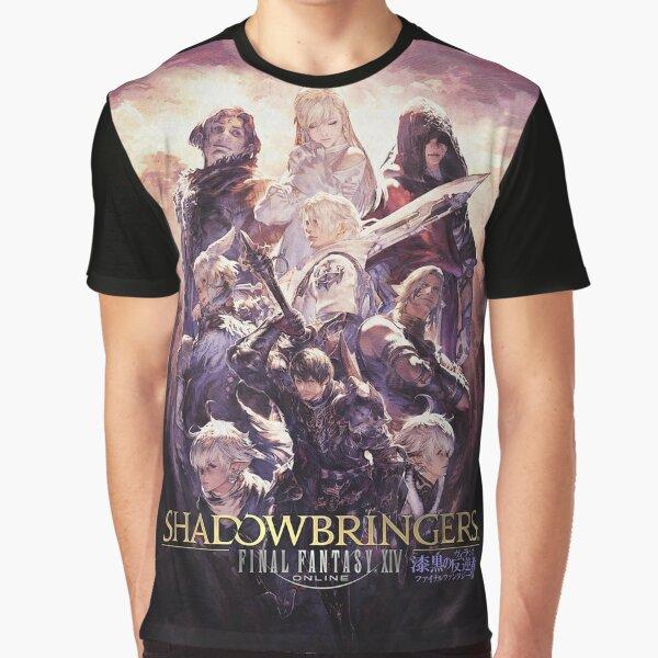 ファイナルファンタジーXIV: 漆黒の反逆者 Graphic T-Shirt
