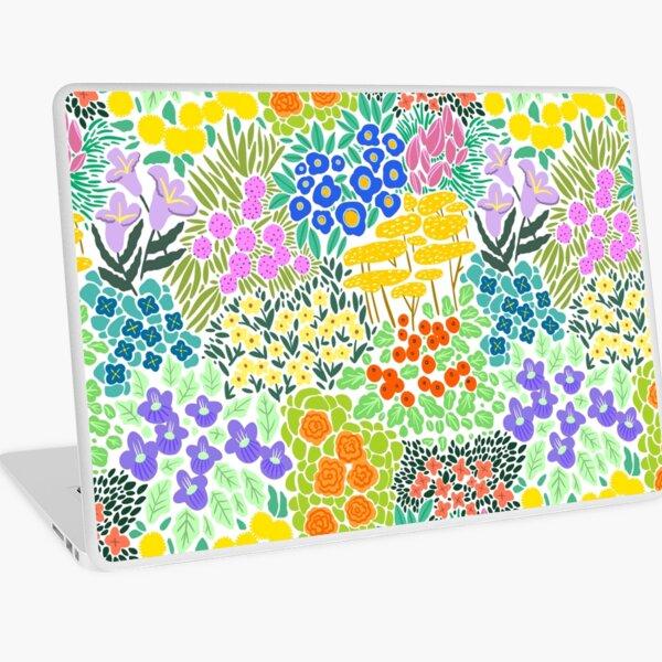 Field of Flowers (White) Laptop Skin