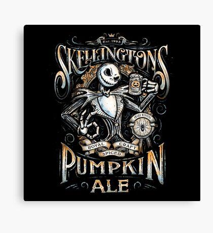 Jack's Pumpkin Royal Craft Ale Canvas Print