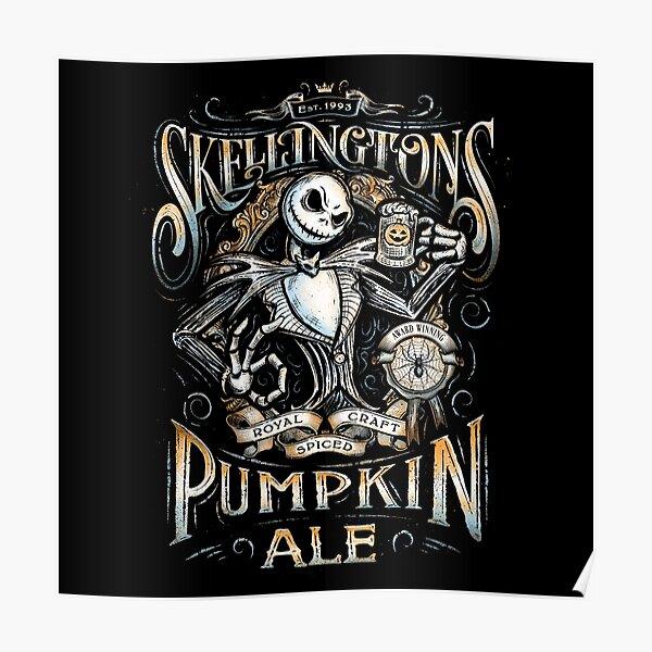Jack's Pumpkin Royal Craft Ale Poster