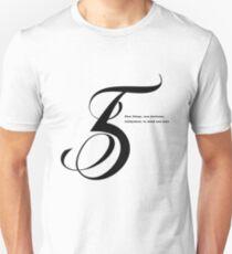 5 Numerology Unisex T-Shirt