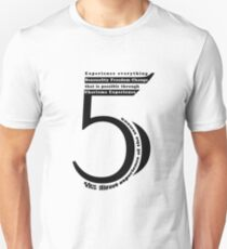 Numerology - 5 Unisex T-Shirt