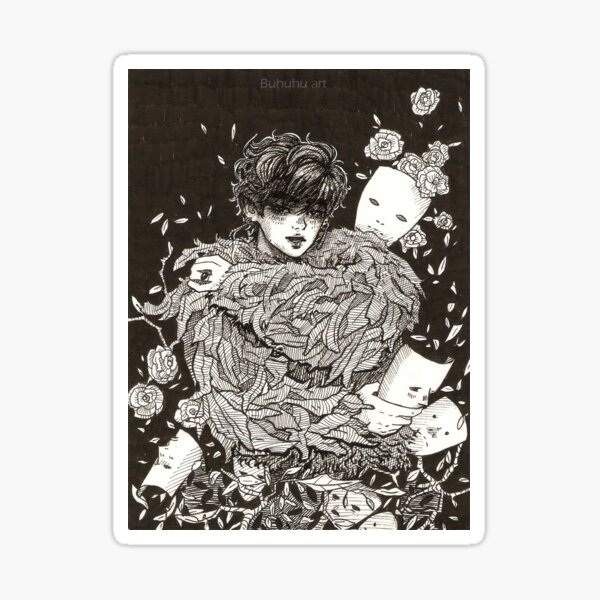 Taehyung 'singularity' Sticker