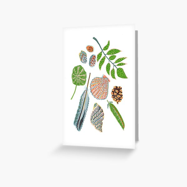 My garden finds Greeting Card