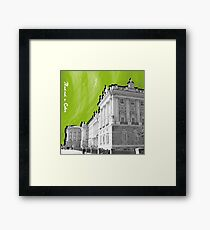 Palacio Real a Color Framed Print