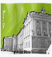 Palacio Real a Color Poster