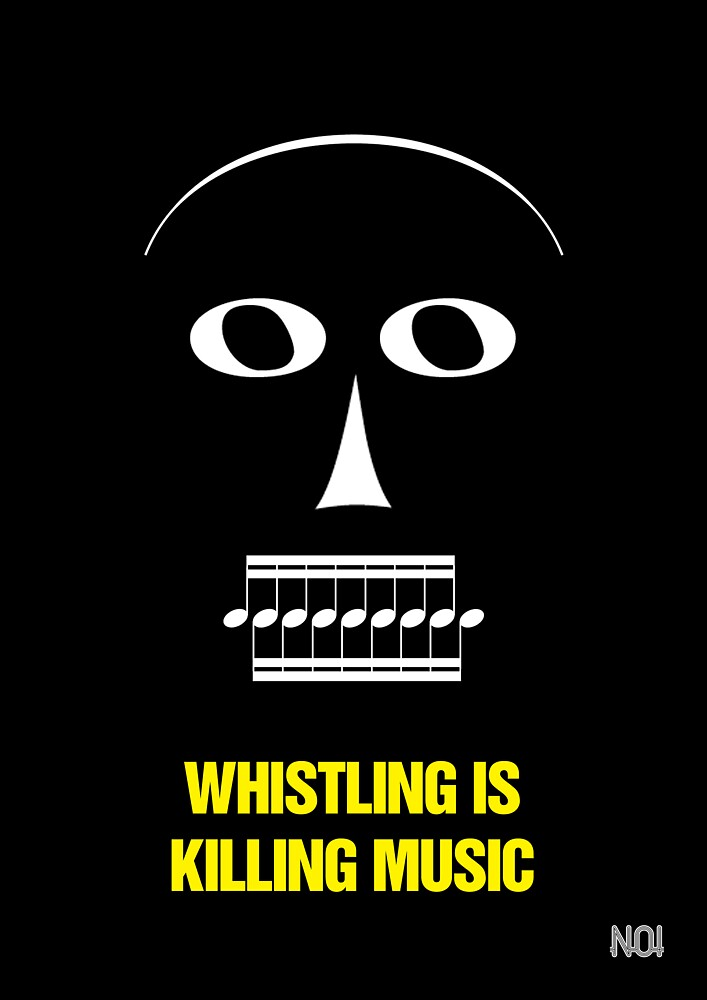 """""""Whistling Is Killing Music,"""" 1981 by TVGC"""