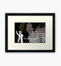 The Corporation nologo Framed Print