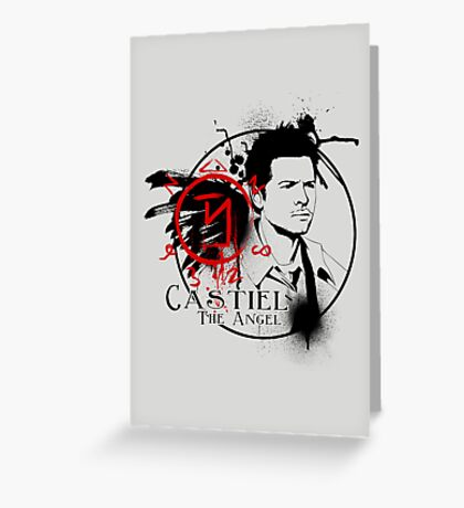 Castiel - The Angel Greeting Card