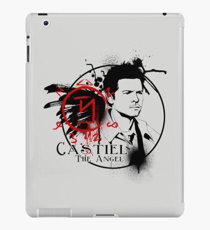 Castiel - The Angel iPad Case/Skin